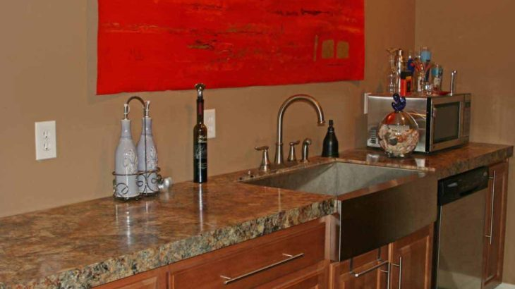 Bar counter top by Rabb & Howe Cabinet Top Co. 2571 Winthrop Ave, Indianapolis, IN 46205