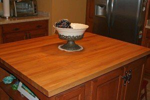Butcher's block counter tops by Rabb & Howe Cabinet Top Co. 2571 Winthrop Ave, Indianapolis, IN 46205