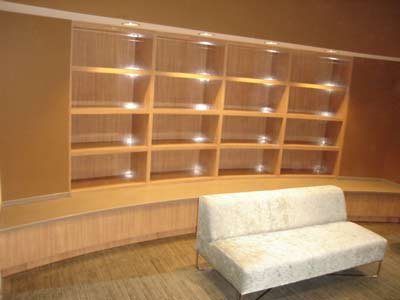 Retail casework by Rabb & Howe Cabinet Top Co. 2571 Winthrop Ave, Indianapolis, IN 46205