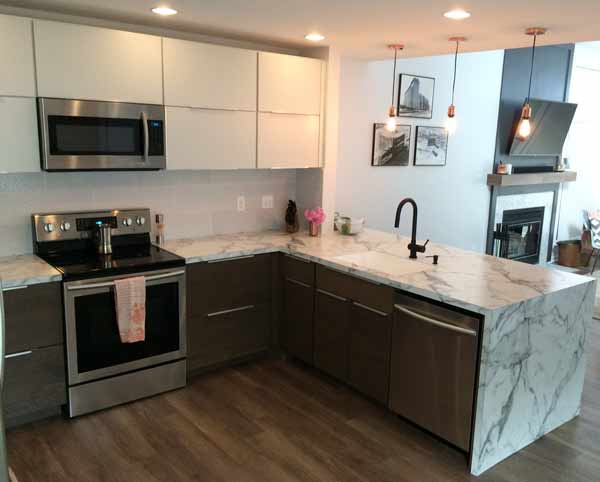 laminate kitchen cabinet countertops Indianapolis Rabb and Howe Cabinet Top Co. Indianapolis Indiana