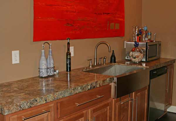 Kitchen countertops solid surface laminate Formica by Rabb & Howe Indianapolis