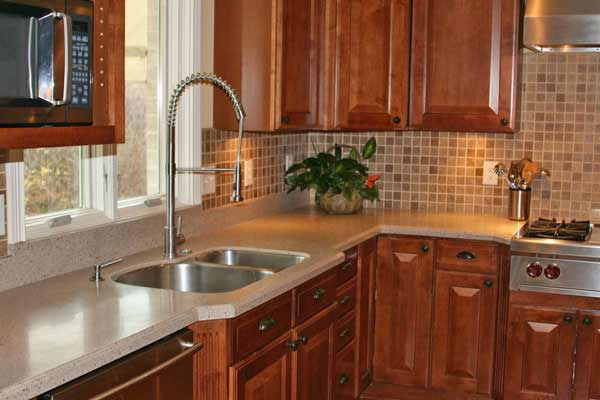 Kitchen counter tops and solid surface counter tops by Rabb & Howe Indianapolis