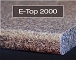 E-Top 2000 laminate edge profile available at Rabb & Howe Cabinet Top Co. 2571 Winthrop Ave, Indianapolis, IN 46205