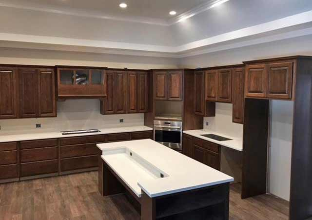 custom cabinet tops by Rabb & Howe in Indianapolis