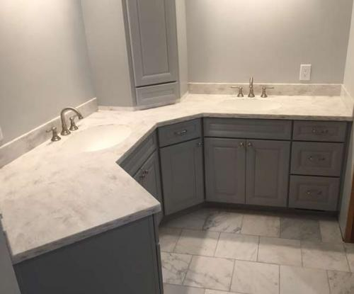bathroom cabinet countertops