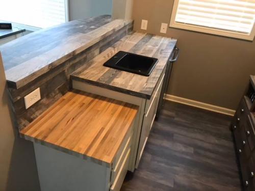 custom cabinet tops