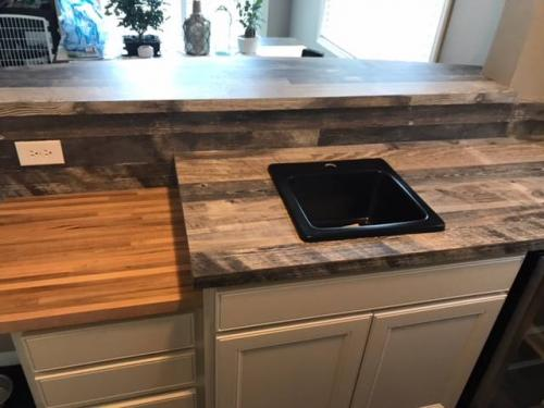 custom cabinet counter tops